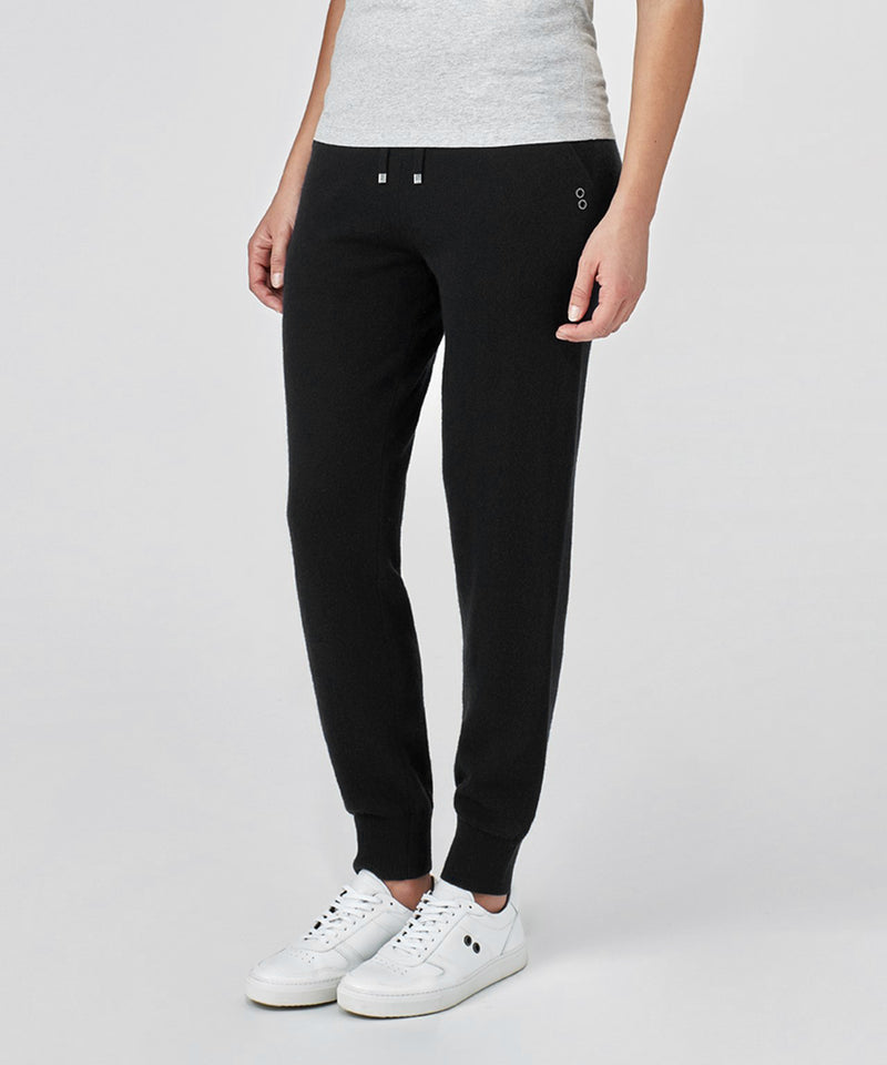Cashmere Pants His For Her - black