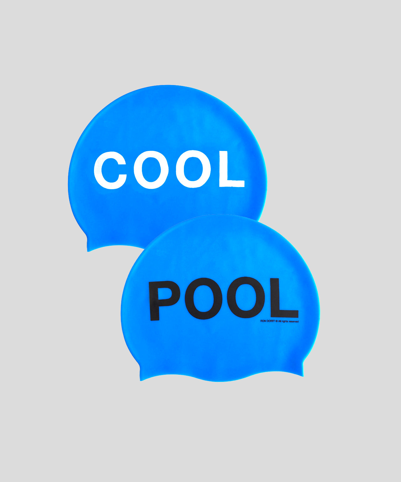 Pool Cap COOL POOL - pool blue