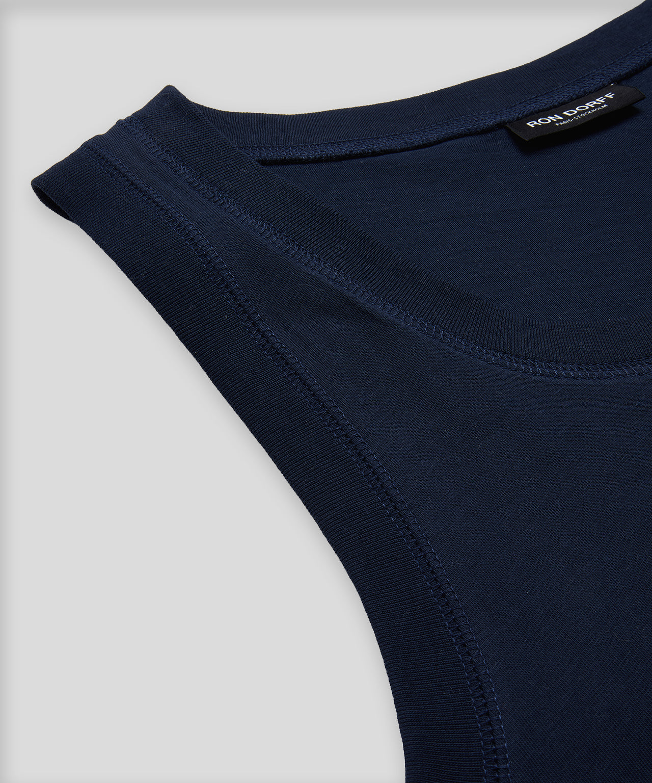 Tank Top DISCIPLINE - navy