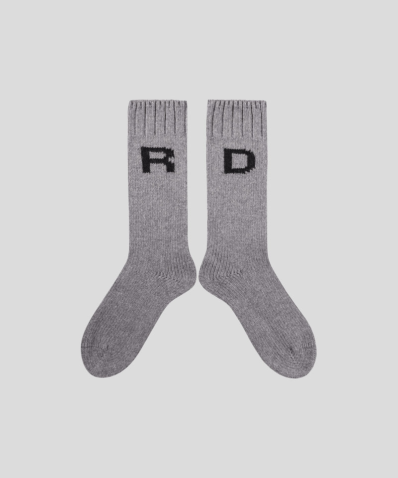 Wool Socks RD His For Her - grey melange
