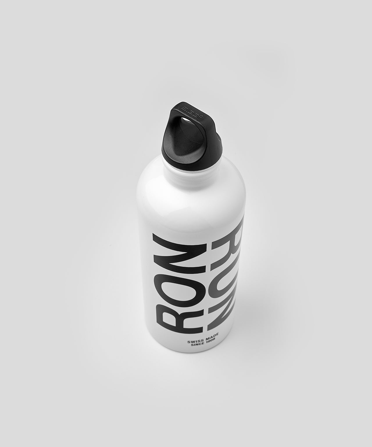 Water bottle RON RUN - white