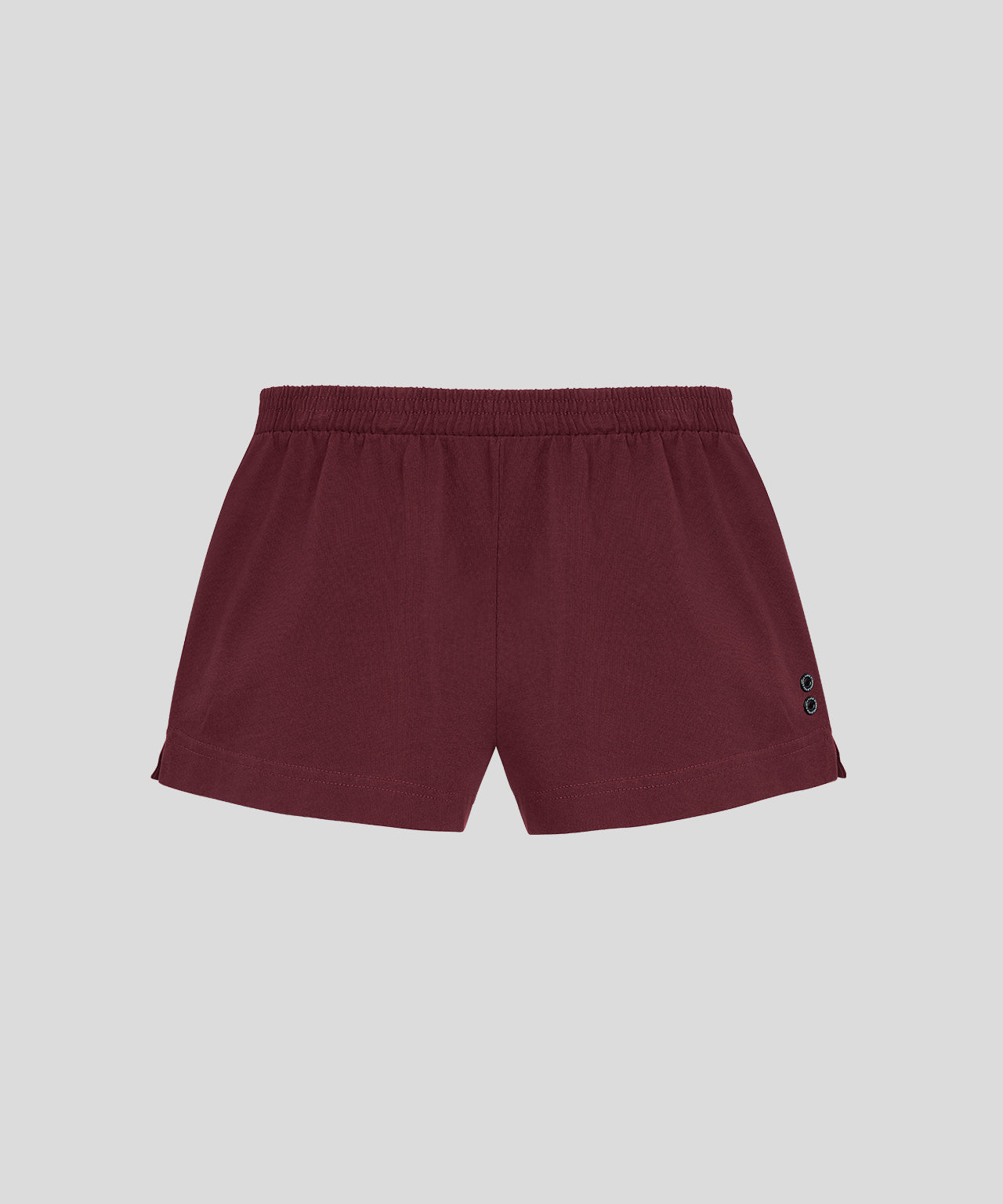Home Shorts His For Her - burgundy red
