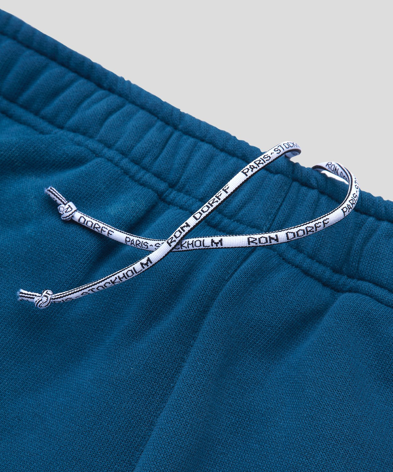 Jogging Shorts Piping - baltic blue