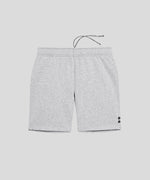 Organic Cotton Jogging Shorts - grey melange