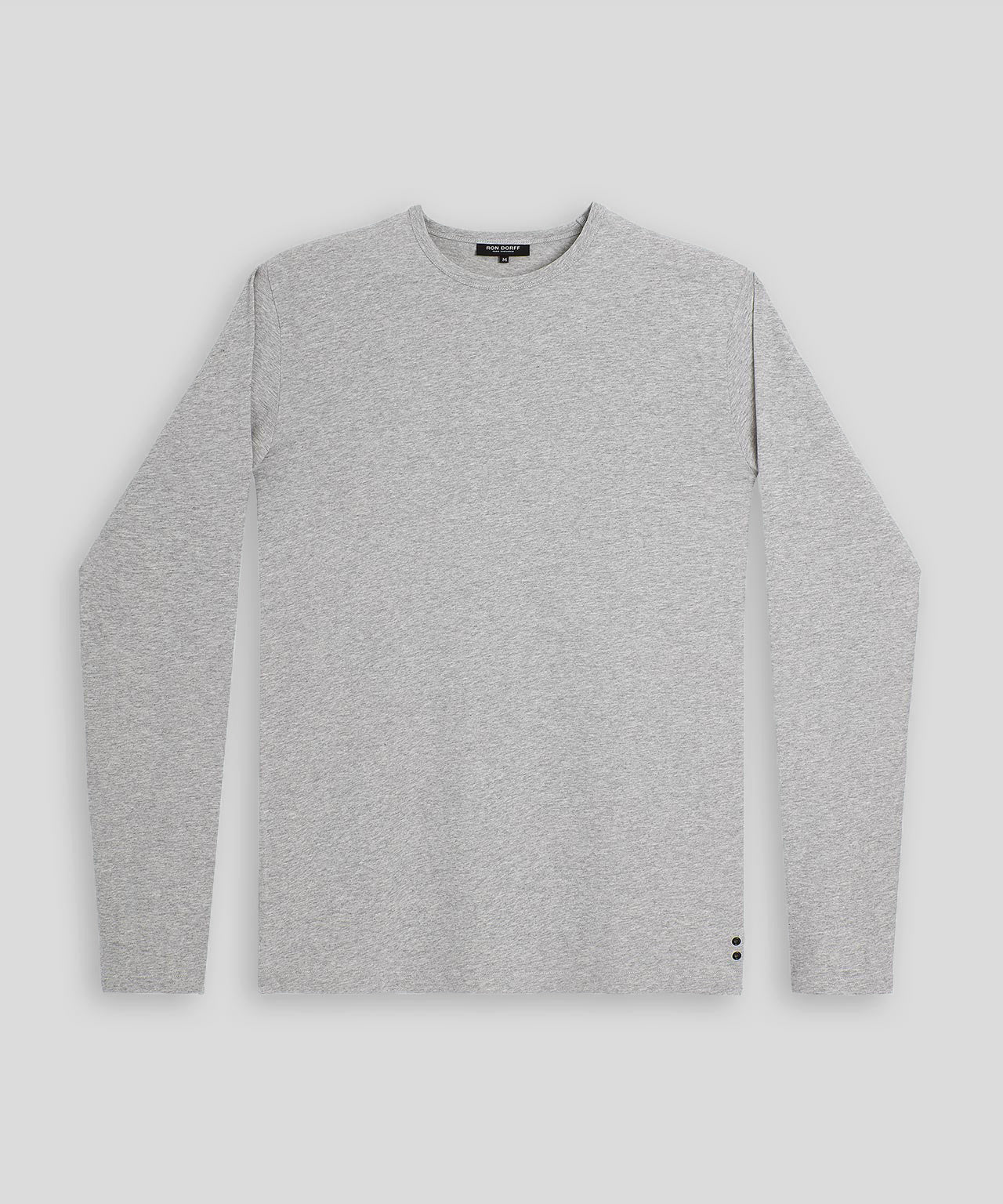 Long-sleeved T- Shirt - grey melange