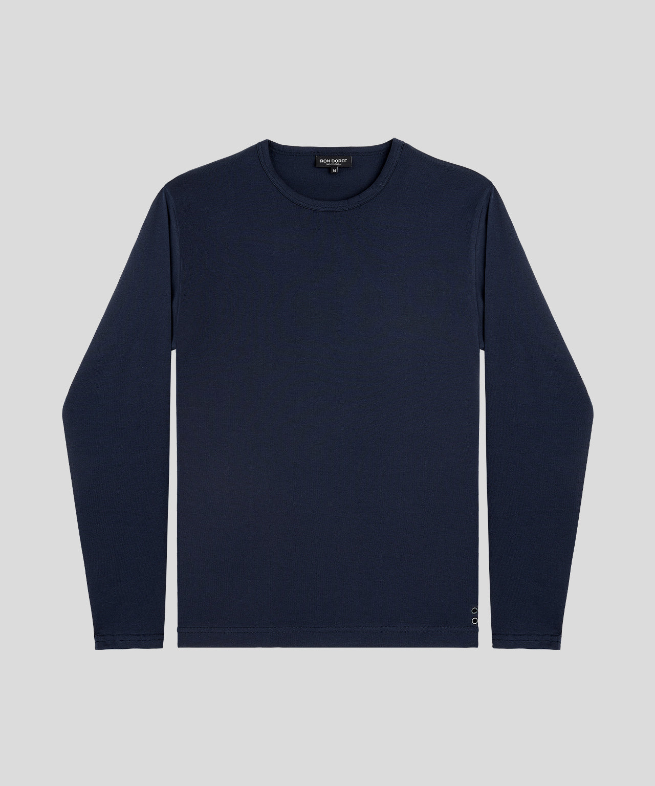 Long-Sleeved T-Shirt - navy