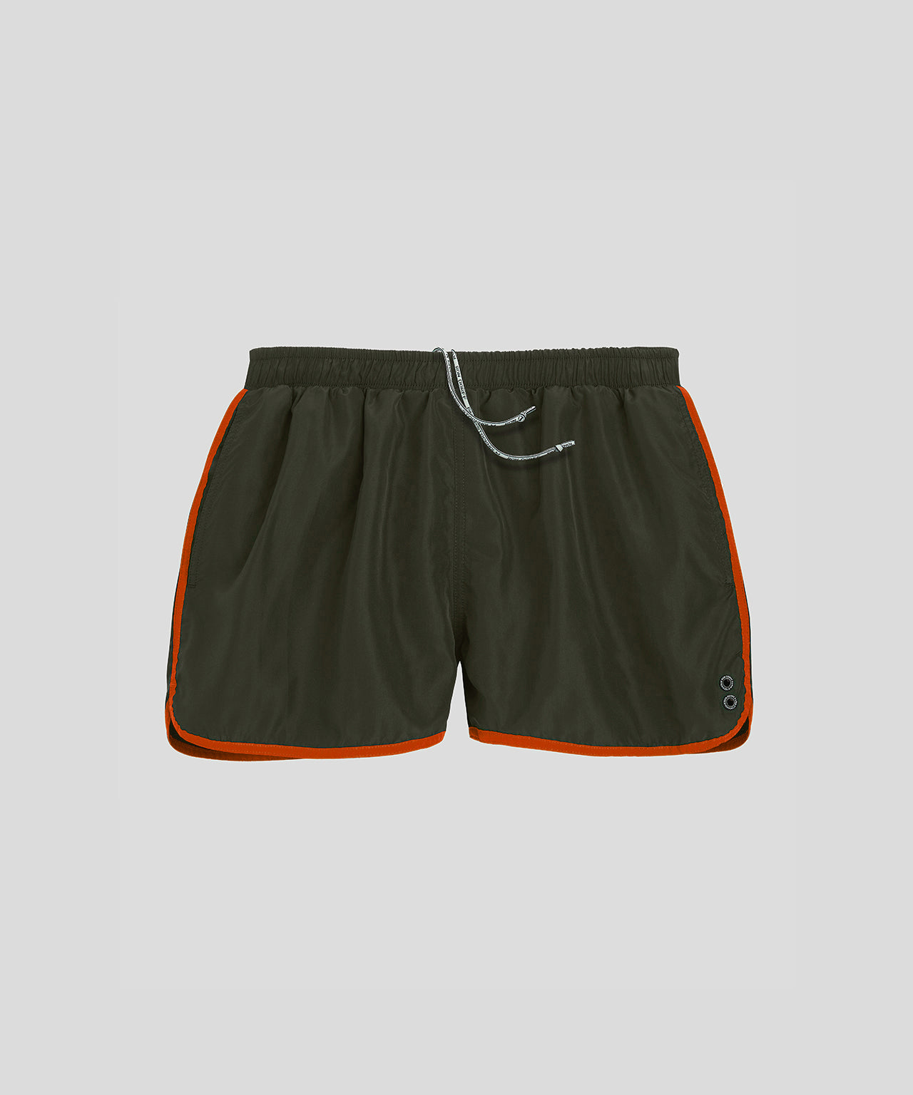 Marathon Swim Shorts - green camp/sunset orange