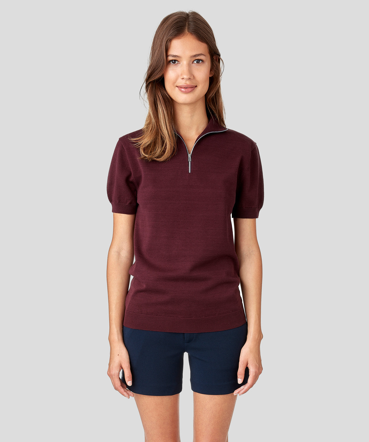 RD Polo His For Her - burgundy red