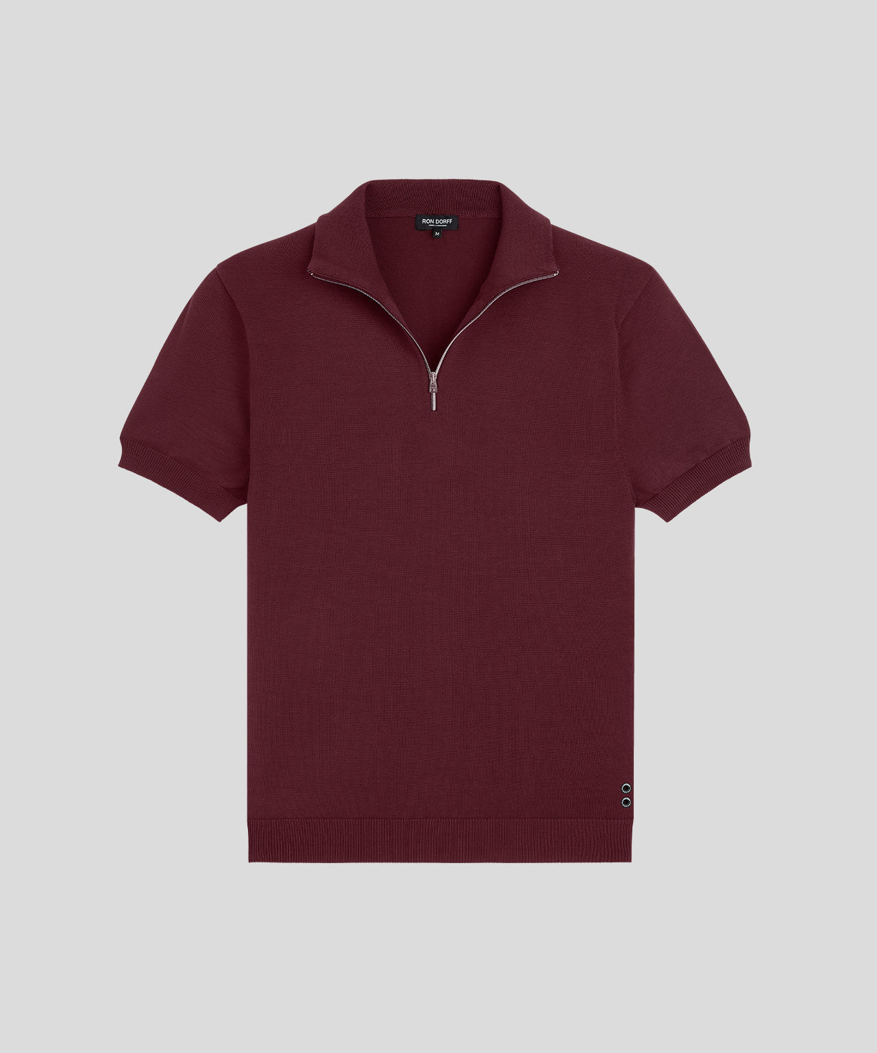 RD Polo - burgundy red
