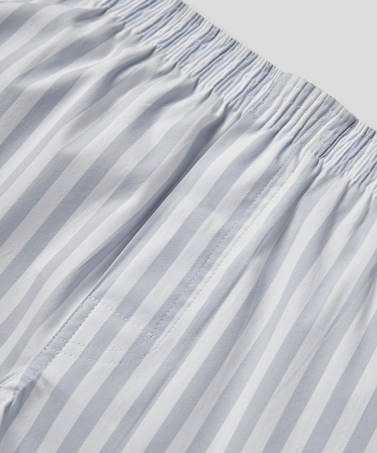 Pyjama Pants - arctic blue / white