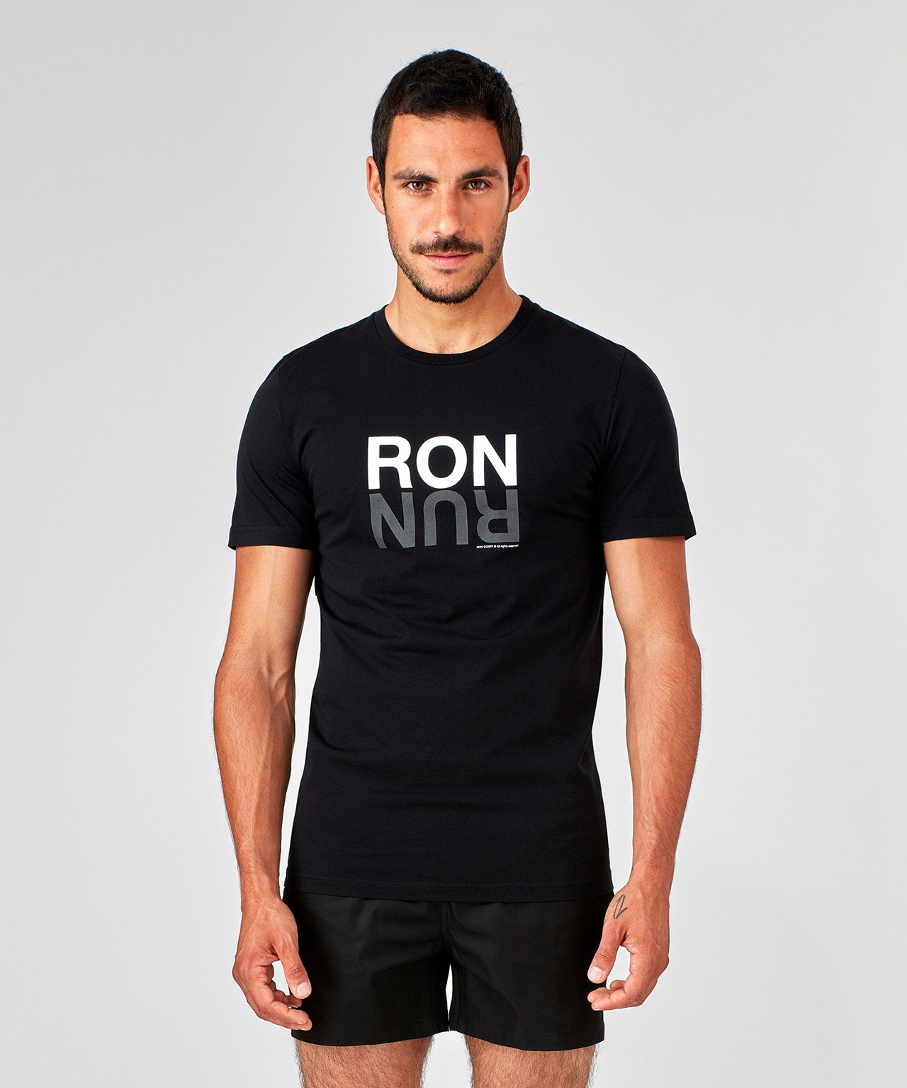 T-Shirt RON RUN - black