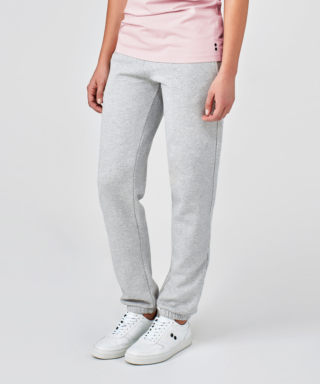 Jogging Trousers His For Her - grey melange