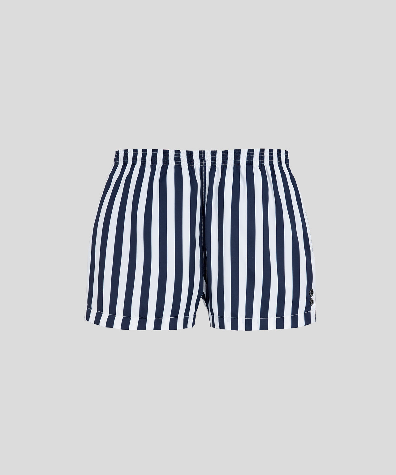 Swim Shorts Vertical Stripes - navy/white