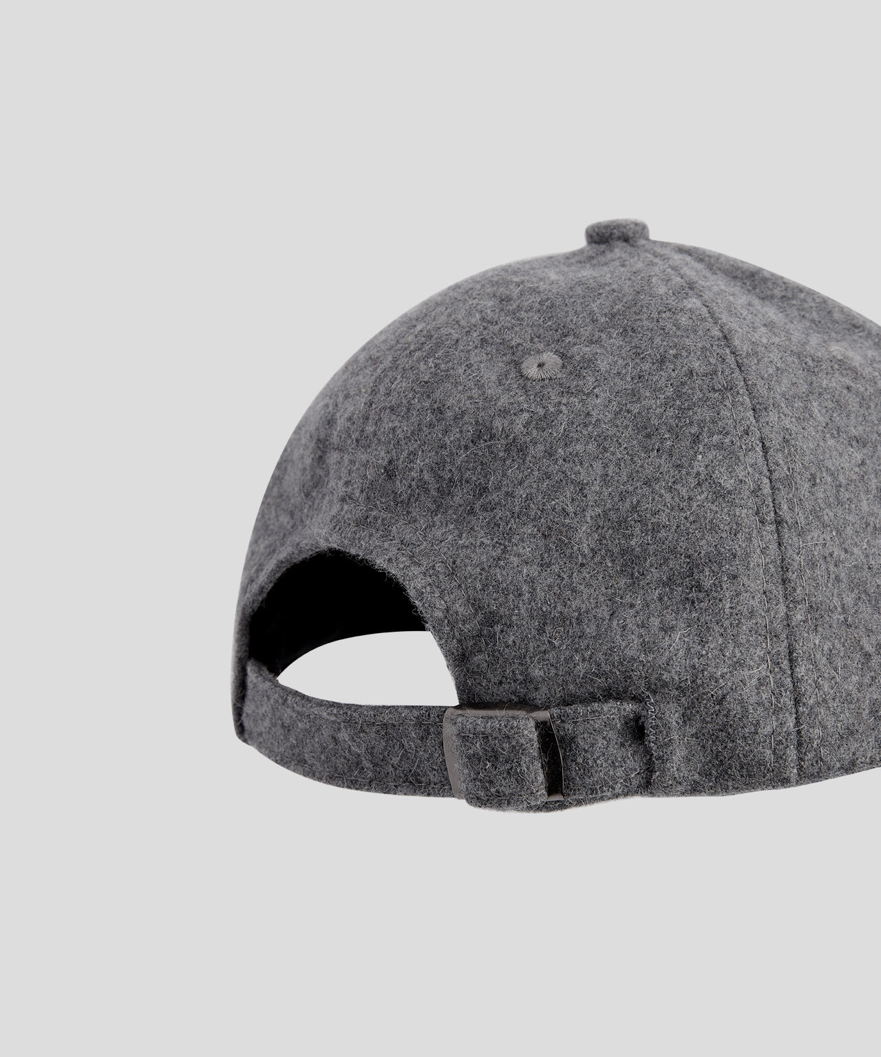 Wool Cap DAD - grey melange