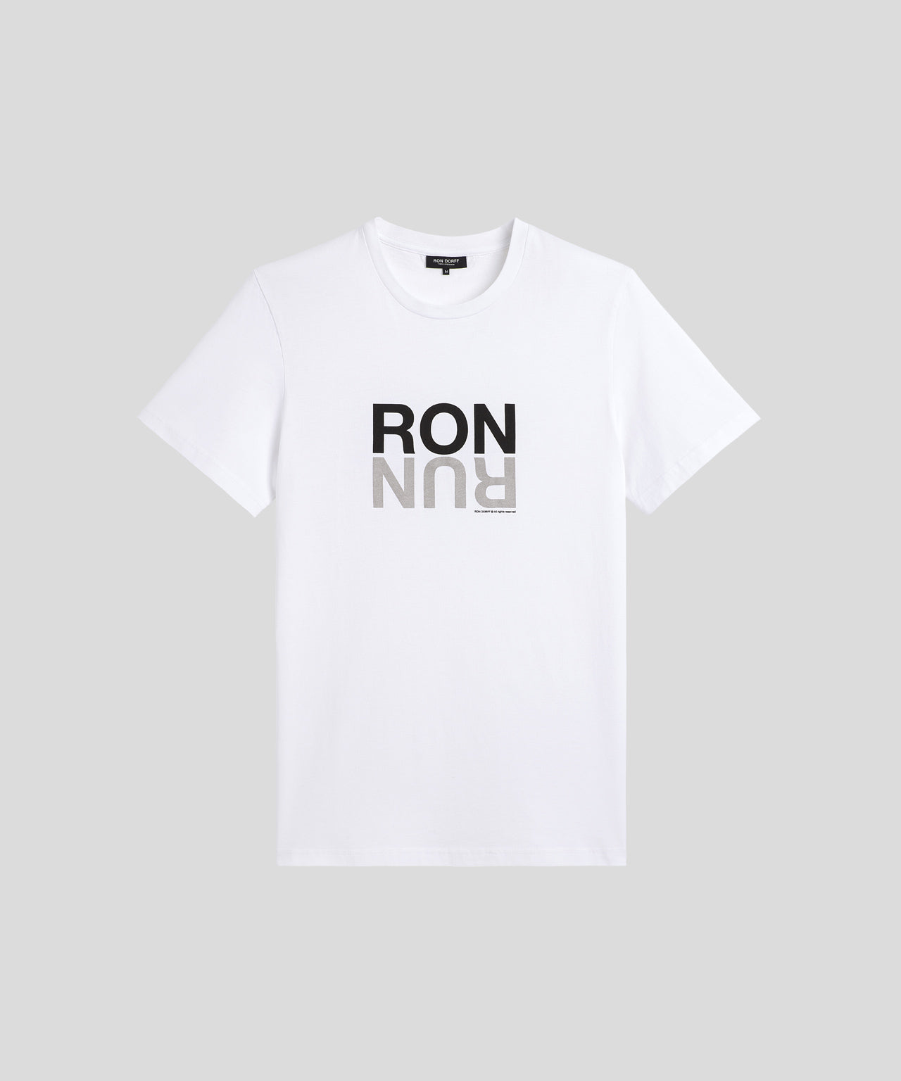 T-Shirt RON RUN - white