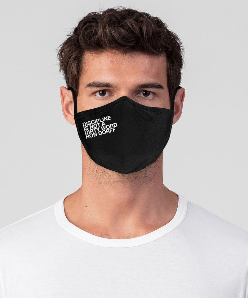 747 DISCIPLINE Face Mask Kit - black