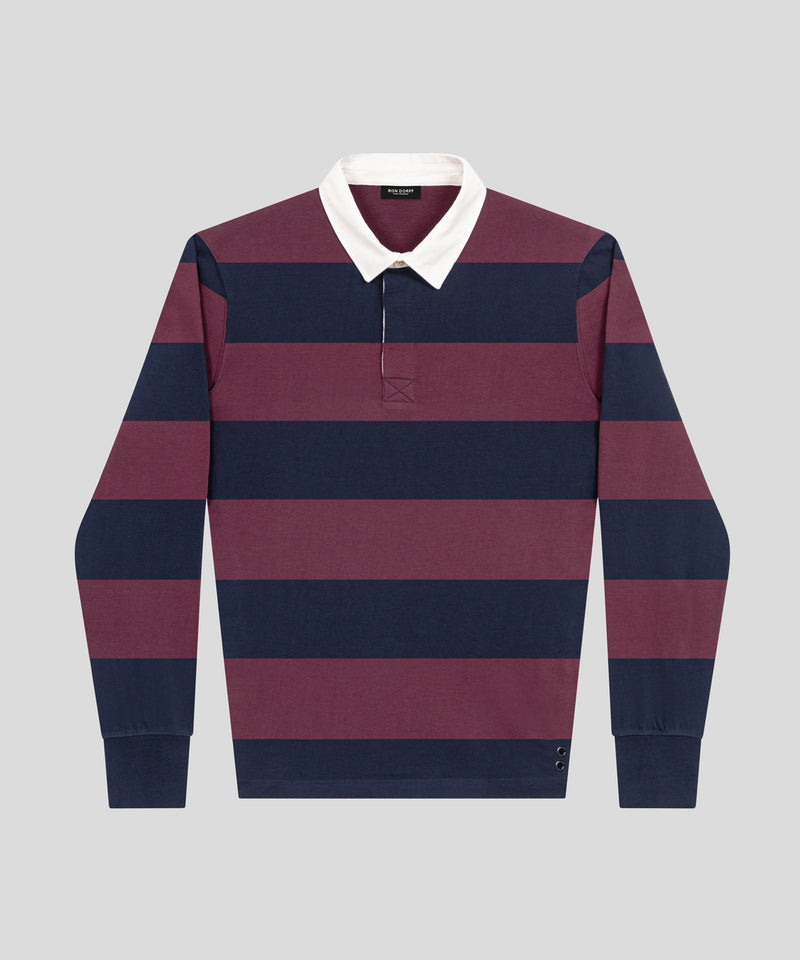 RD Rugby Polo - navy / purple boreal
