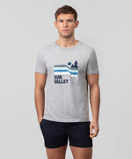 T-Shirt SUN VALLEY - grey melange