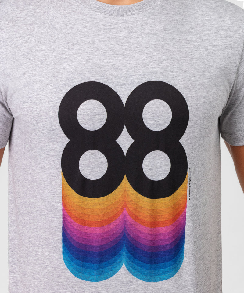 T-Shirt 88 - grey melange