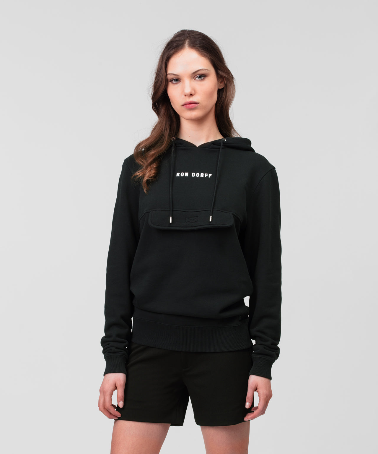 Kangaroo Hoodie - Anniversary Edition His For Her - black