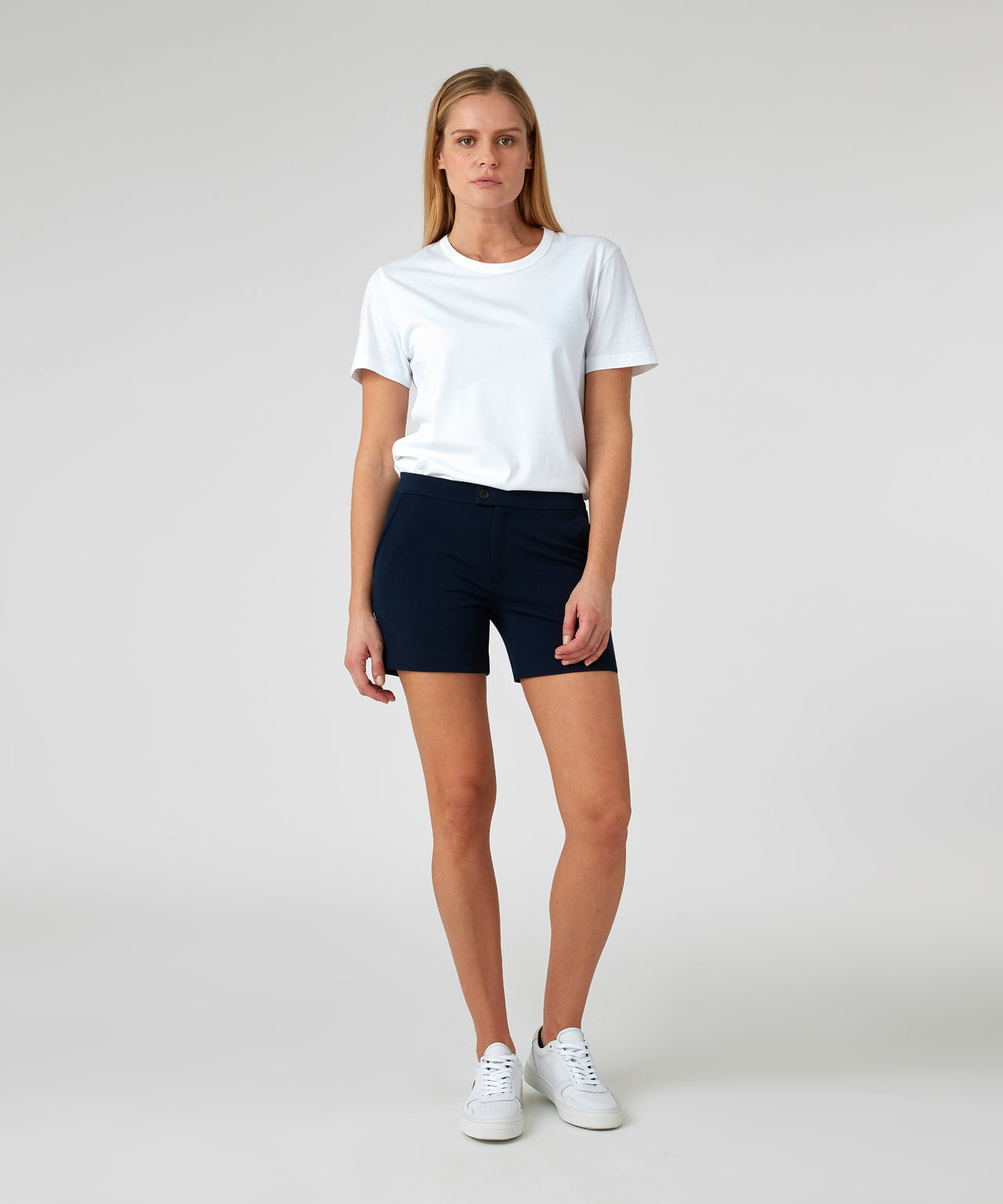 Tennis Shorts His For Her - navy