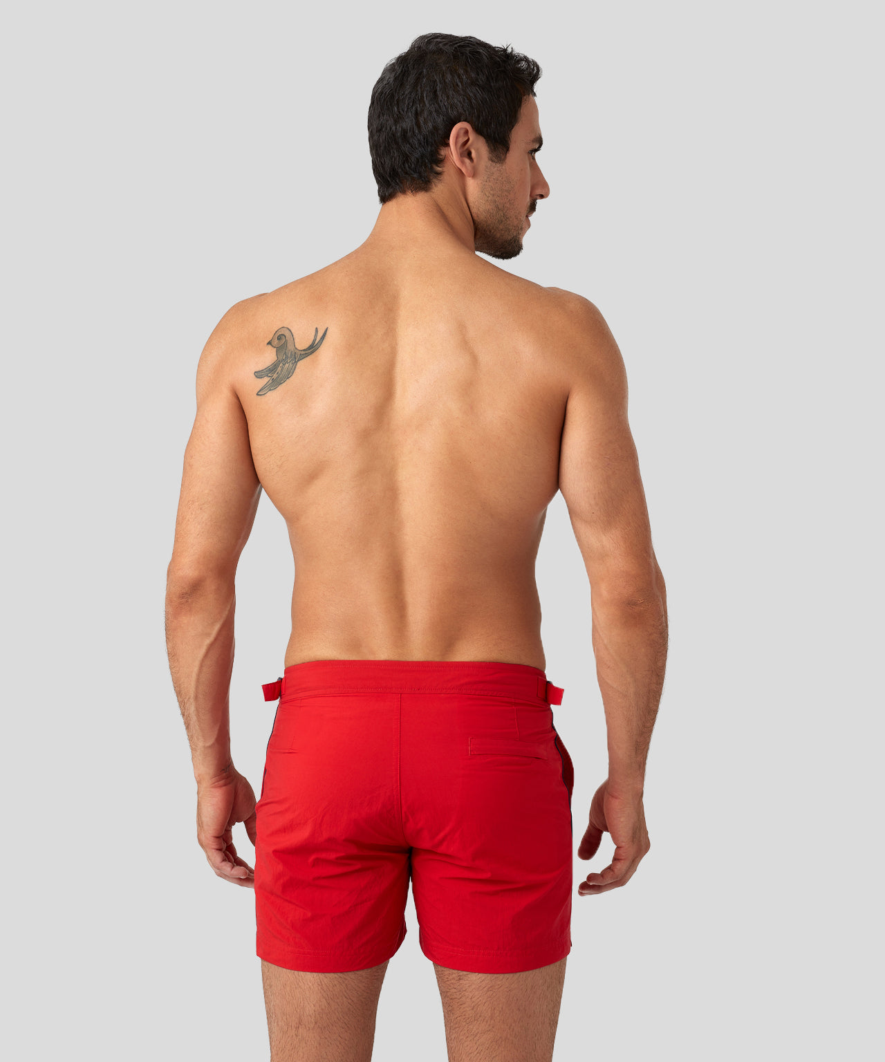 Urban Swim Shorts - red/navy