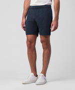 Organic Cotton Jogging Shorts - navy