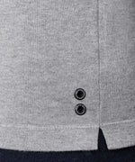 Cotton Cashmere Baseball Sweater