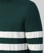 Merino Wool Rollneck - green light