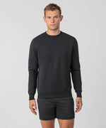 Organic Cotton Sweatshirt - black