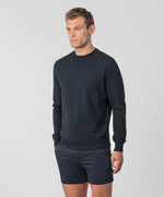 Organic Cotton Sweatshirt - navy