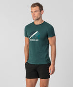 T-Shirt Swede Life - green night