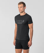 T-Shirt GENTLE MAN - black