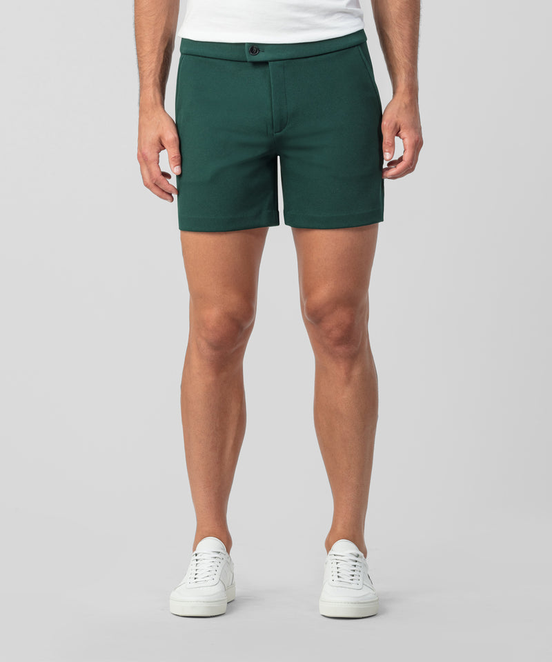 Tennis Shorts - green night