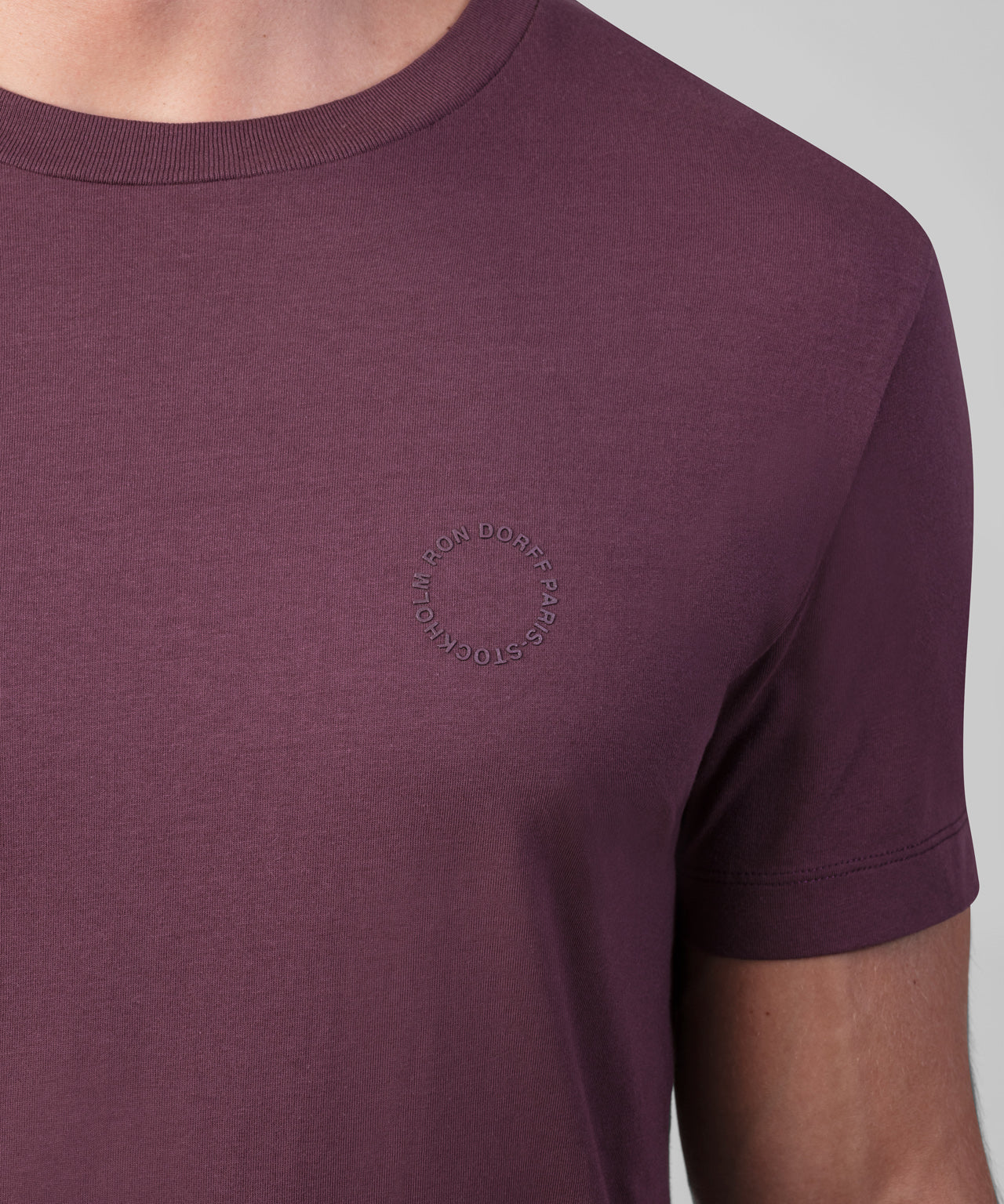 T-Shirt RD Eyelet - purple boreal