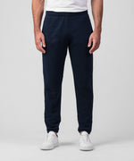 Organic Cotton Jogging Trousers - navy