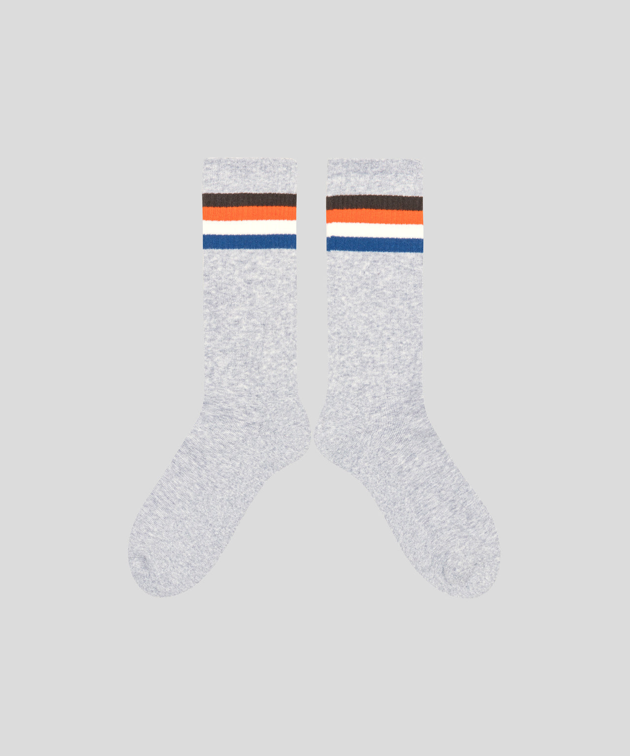 Sport Socks Stripes - grey melange