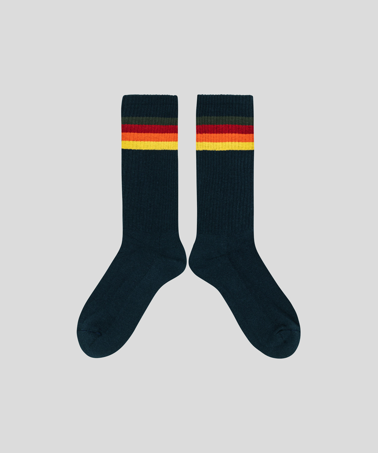 Sport Socks Stripes - navy