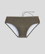 Swim Briefs - green camp