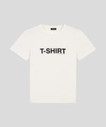 Organic Cotton T-Shirt - off white