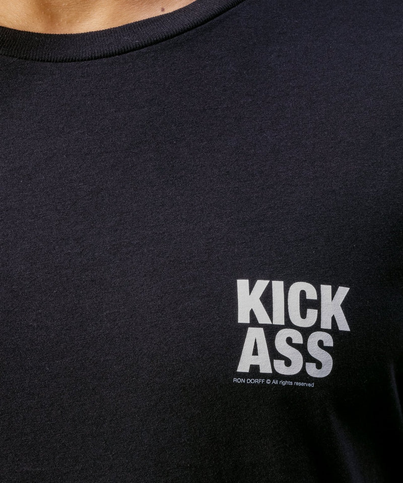 T-Shirt KICK ASS - black