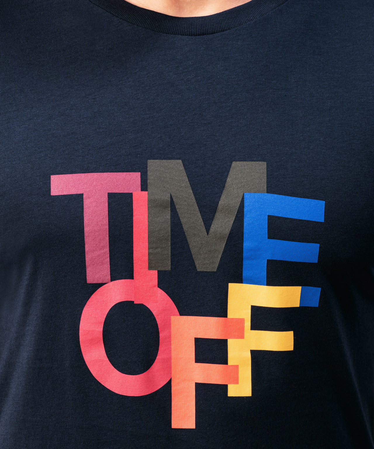 T-Shirt TIME OFF - navy