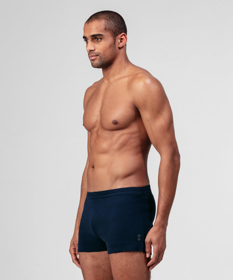 Home Shorts Piqué - navy