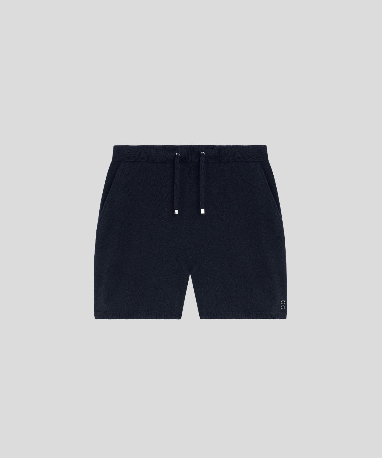 Cashmere Shorts - navy