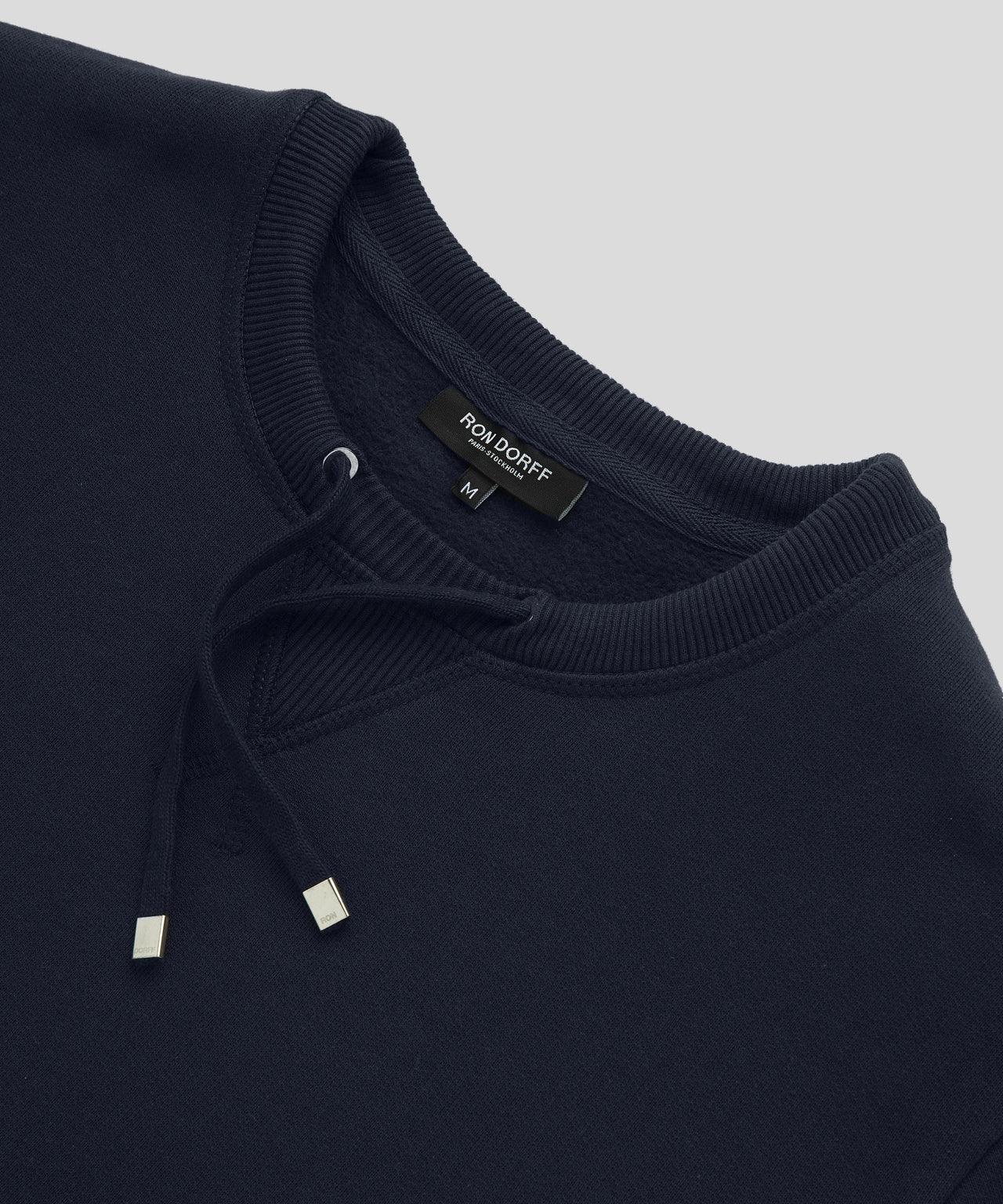 Sweatshirt Drawstring - navy