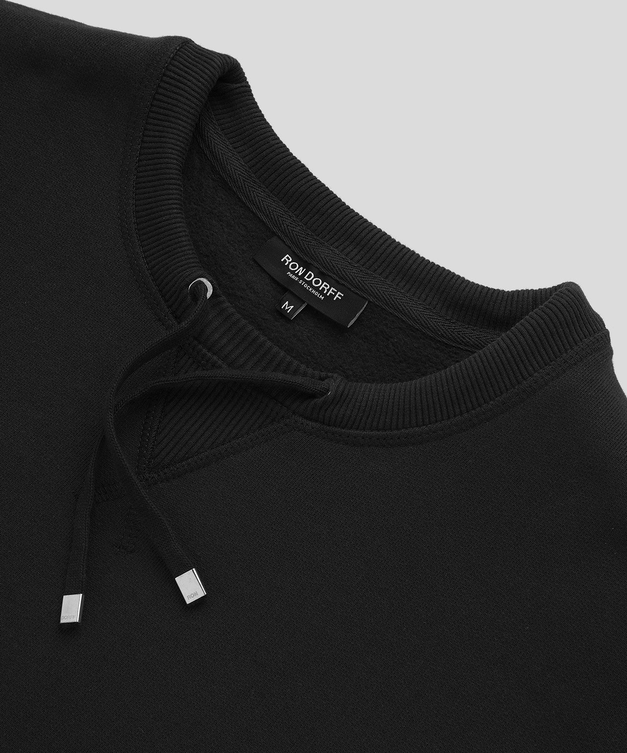 Sweatshirt Drawstring - black