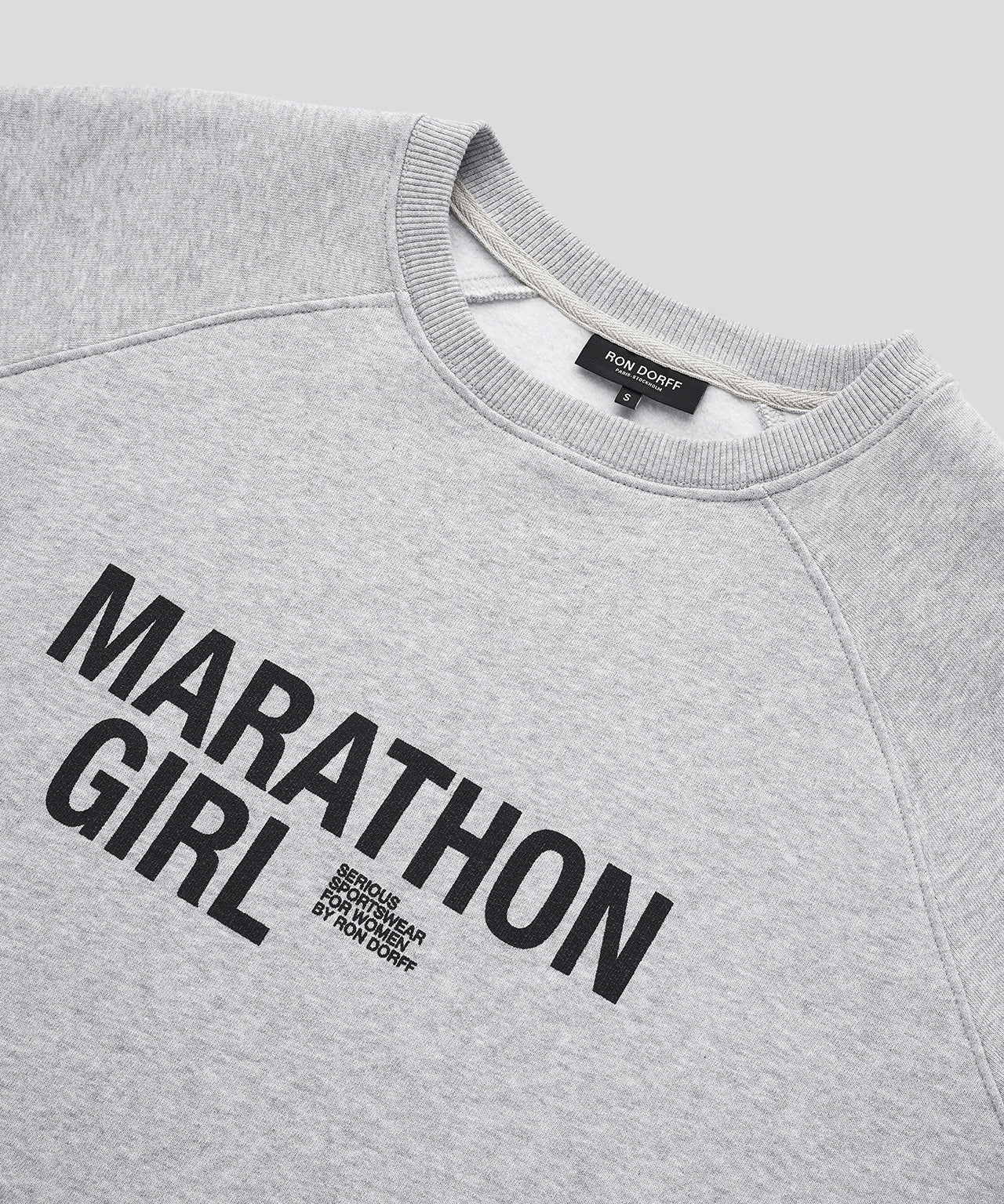 Sweatshirt MARATHON GIRL His For Her - grey melange