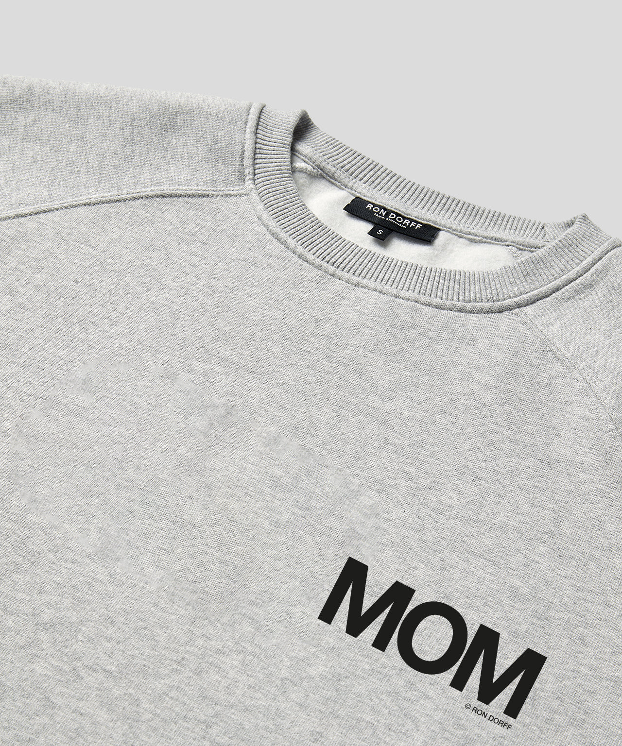 Sweatshirt MOM - grey melange
