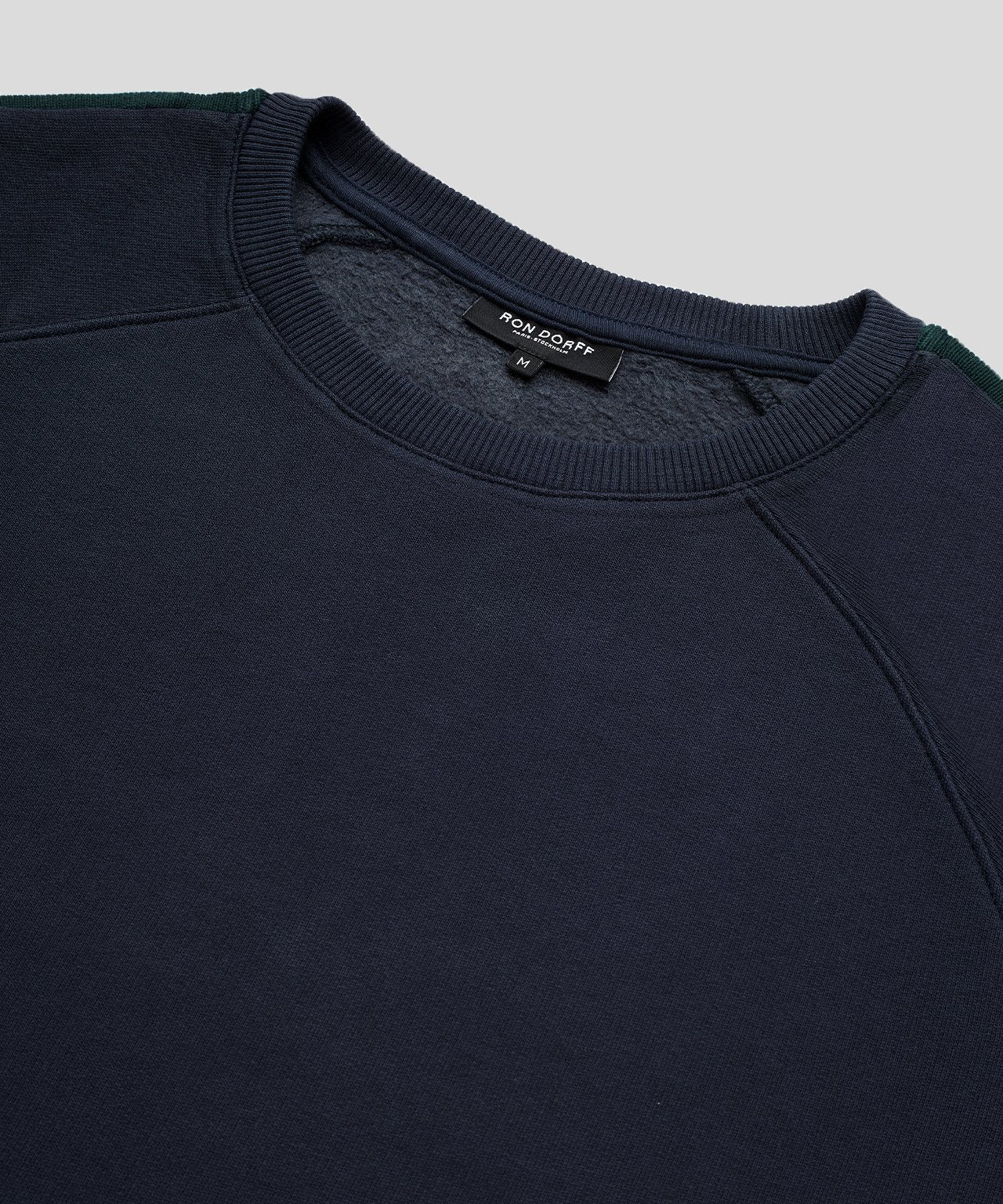 Sweatshirt Sides Stripes - navy