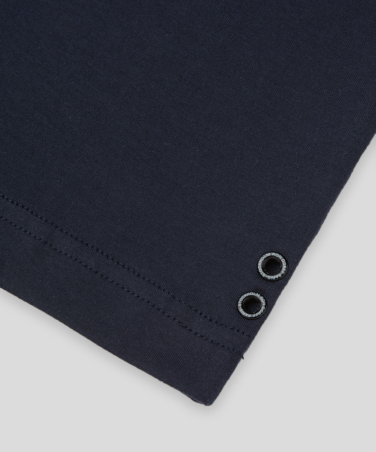 T-Shirt Eyelet Edition His For Her - navy